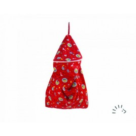 Popolini Birdy Red Nappy Bag RONDO birdy red