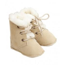 Popolini Baby Boots Maxi Lambskin Ecru