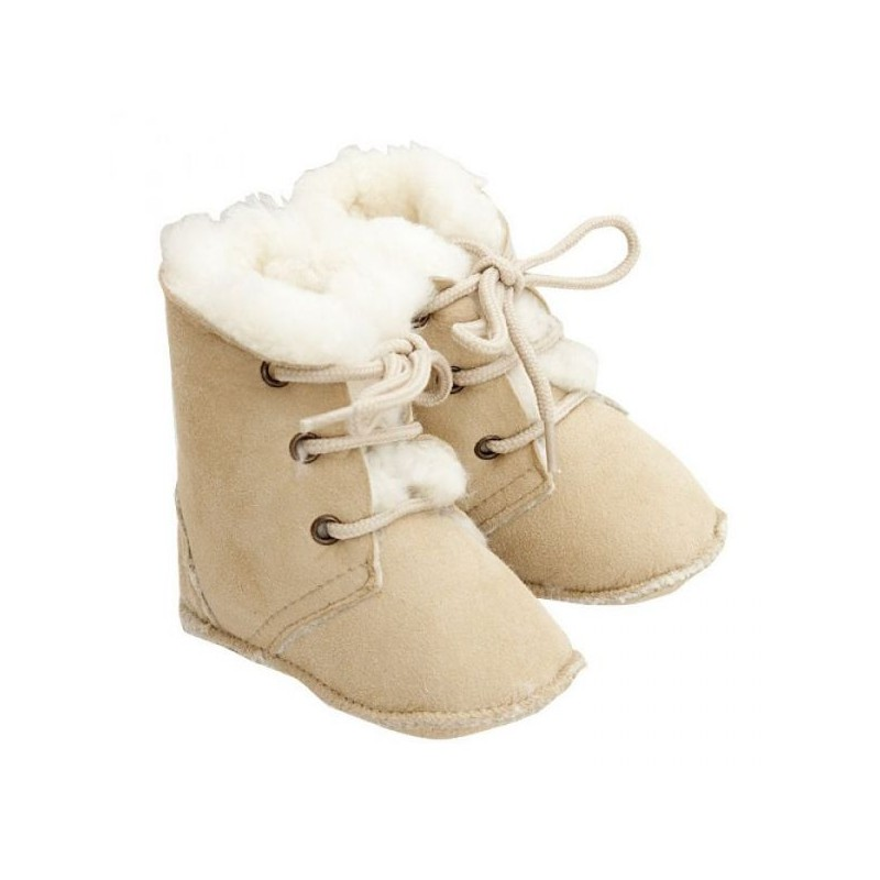 Popolini Baby Boots Maxi Lambskin